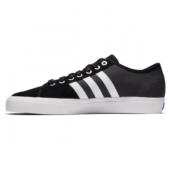 Adidas Matchcourt RX Shoes - Core Black/White/Solid Grey - 6.5