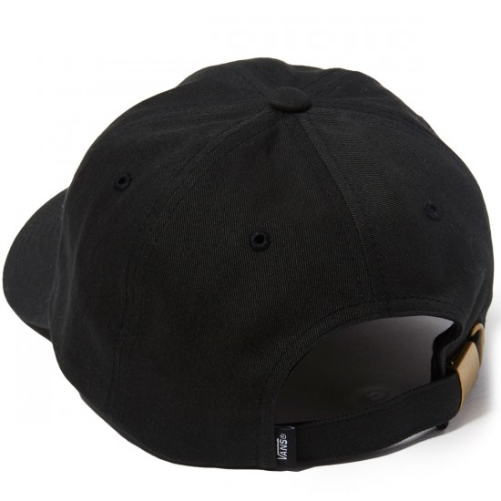 Vans Block Curved Bill Jockey Hat - Black