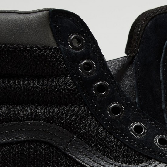 Vans Sk8-Hi MTE Shoes - Black/Ballistic - 8.0