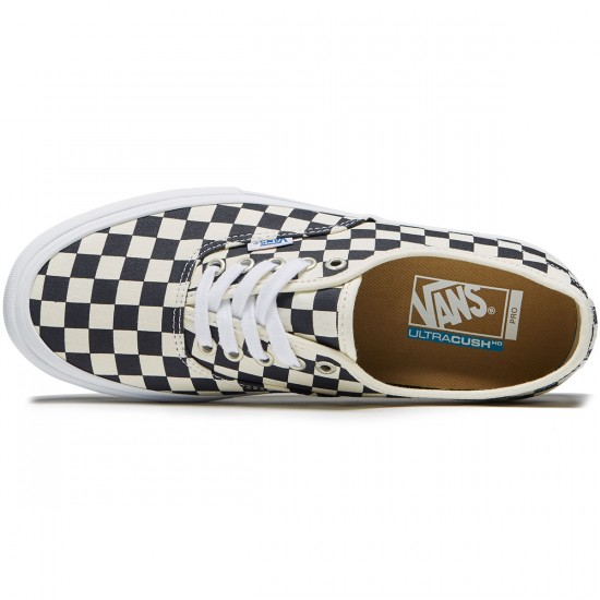 Vans Authentic Pro Shoes - Checkerboard Navy - 8.0