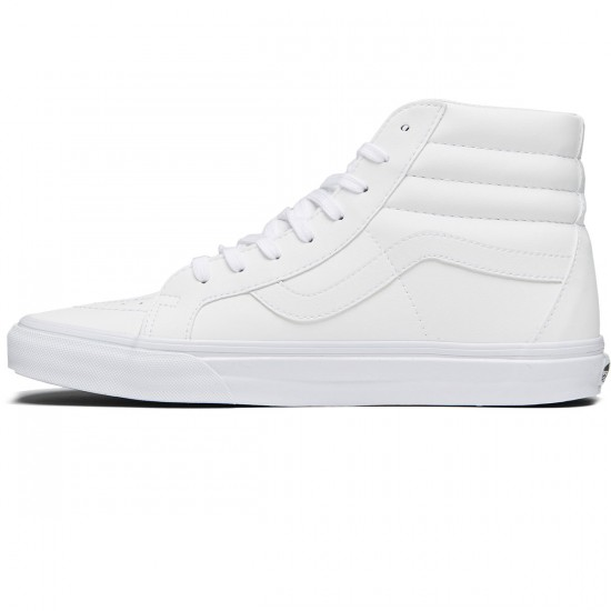 Vans SK8-Hi Reissue Shoes - Classic Tumble/True White - 8.0