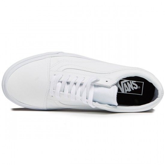 Vans Old Skool Shoes - Classic Tumble True White - 8.0