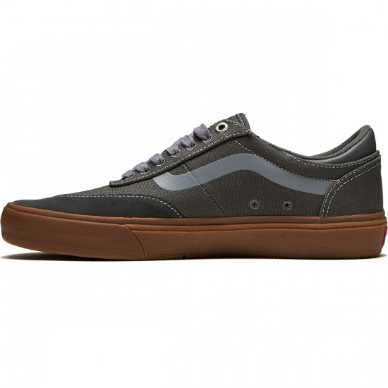 Vans Gilbert Crockett Pro 2 Shoes - Gunmetal/Gum - 8.0