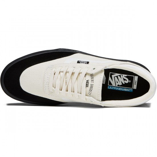 Vans Gilbert Crockett Pro 2 Shoes - White/Black - 8.0