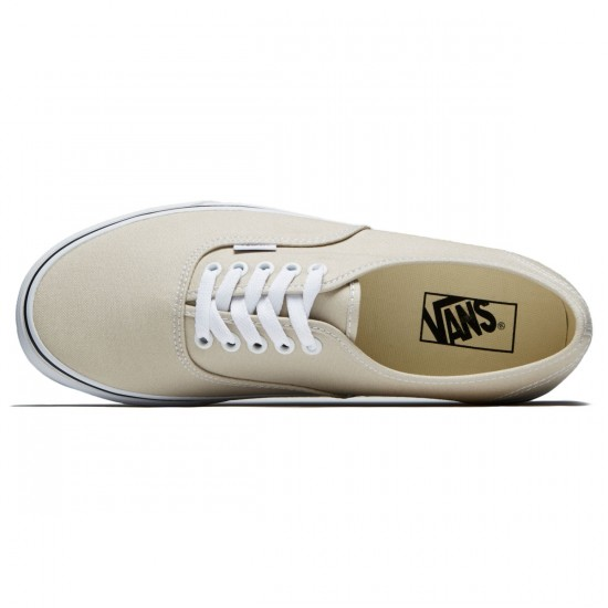 Vans Original Authentic Shoes - Silver Linning/True White - 8.0
