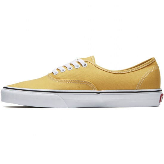 Vans Original Authentic Shoes - Ochre/True White - 8.0