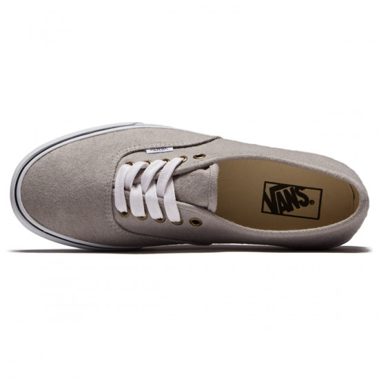 Vans Original Authentic Shoes - Drizzle/True White - 8.0