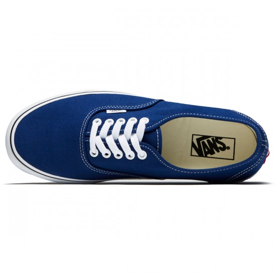 Vans Original Authentic Shoes - Estate Blue/True White - 8.0