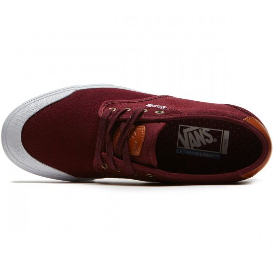 Vans Chima Estate Pro Shoes - Port/White - 8.0