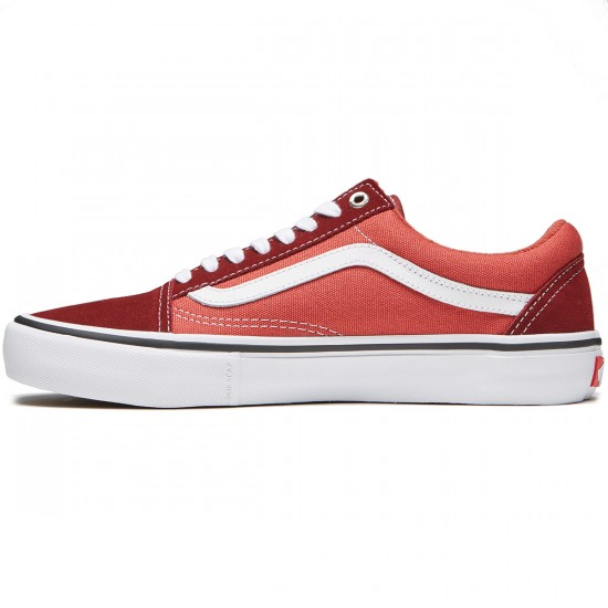 Vans Old Skool Pro Shoes - Madder Brown/Cinnabar - 8.0