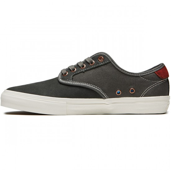 Vans Chima Ferguson Pro Shoes - Gunmetal/Burnt Henna