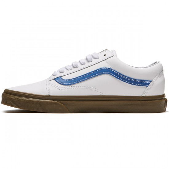 Vans Old Skool Shoes - True White/Delft/Gum - 8.0