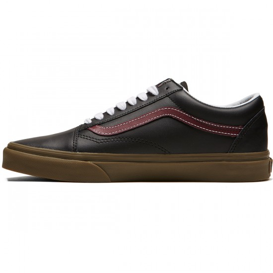 Vans Old Skool Shoes - Bleacher Port Royale/Gum - 8.0