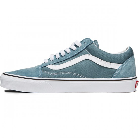 Vans Old Skool Shoes - Goblin Blue/True White - 8.0