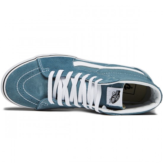 Vans Sk8-Hi Shoes - Goblin Blue/True White - 8.0
