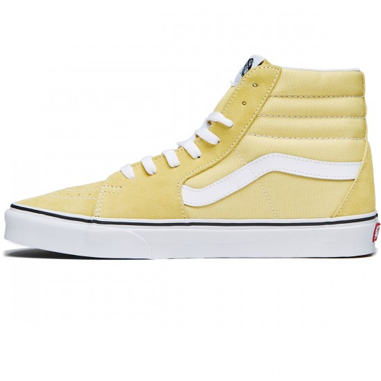 Vans Sk8-Hi Shoes - Dusky Citron/True White - 8.0