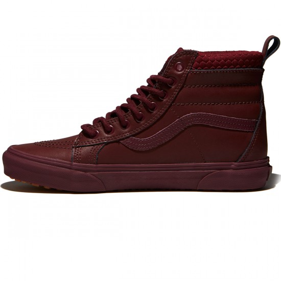 Vans Sk8-Hi MTE Shoes - Port Royale/Mono - 8.0