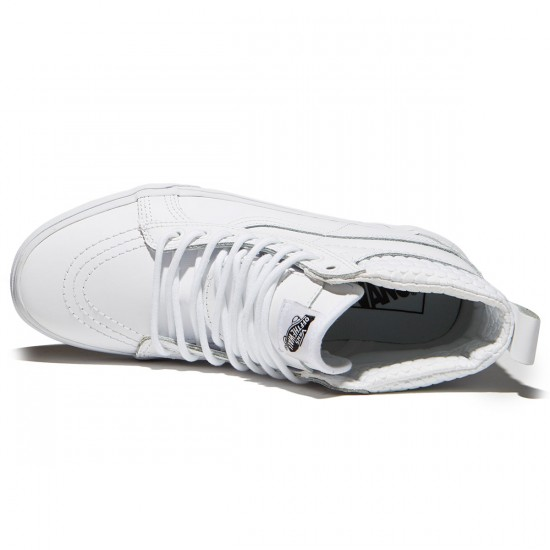 Vans Sk8-Hi MTE Shoes - True White/Mono - 8.0