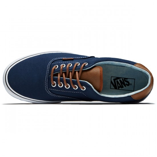 Vans Era 59 Shoes - Dress Blues/Acid Denim