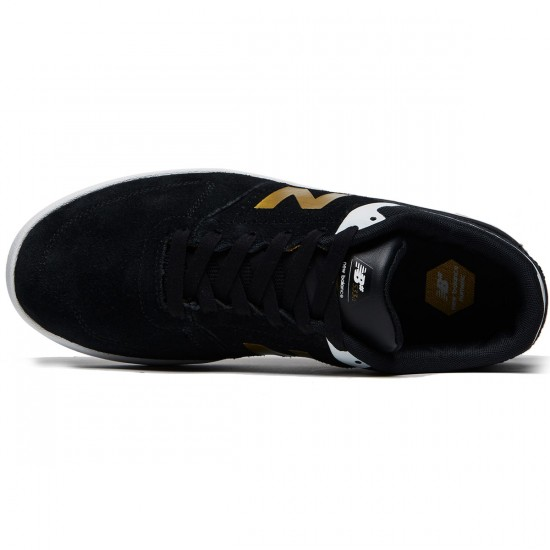 New Balance Numeric 533 V2 Shoes - Black/Gold - 8.0