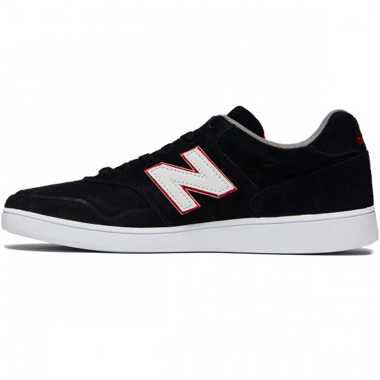 New Balance Numeric 288 Shoes - Black/Red - 8.0