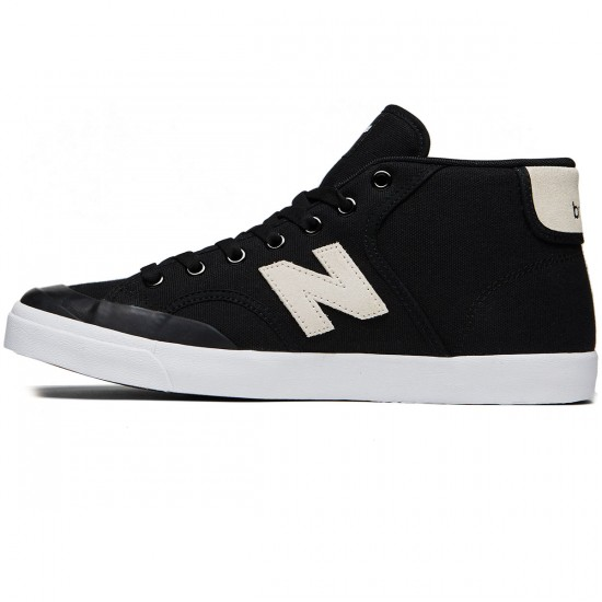 New Balance Numeric Pro Court 213 Shoes - Black/White - 8.0