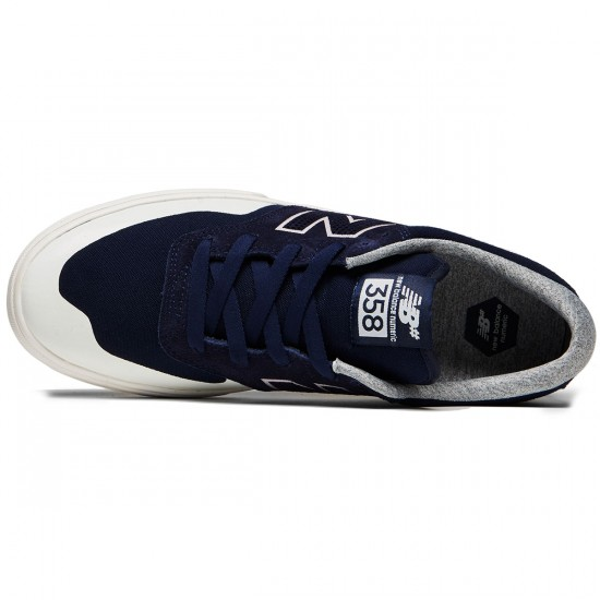New Balance Arto 358 Shoes - Navy/Sea Salt - 8.0