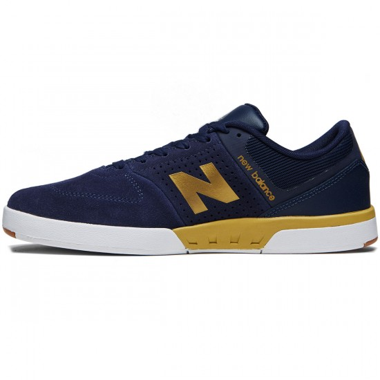 New Balance Numeric 533 V2 Shoes - Navy/Gold - 8.0