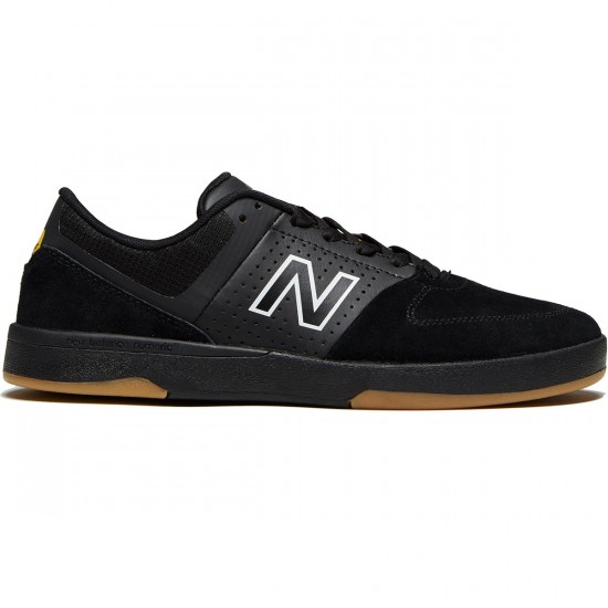 New Balance Numeric 533 V2 Shoes - Black/Black - 8.0