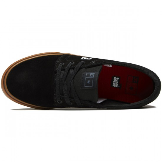 DC Trase S Shoes - Black/White/Red