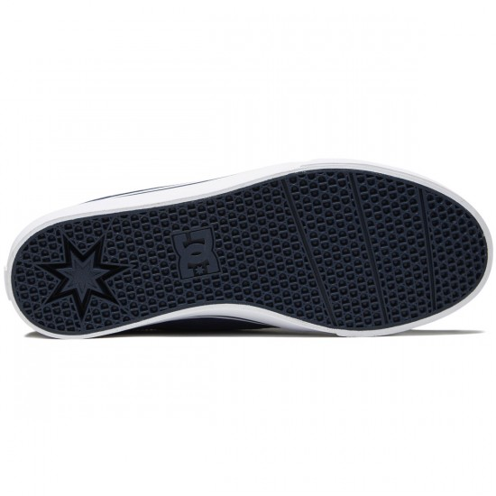 DC Trase S Shoes - Navy/White - 8.0