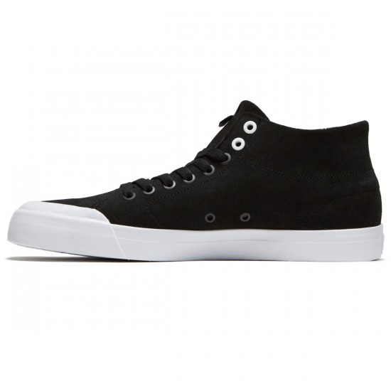 DC Evan Smith Hi Zero Shoes - Black/Black/White - 8.0