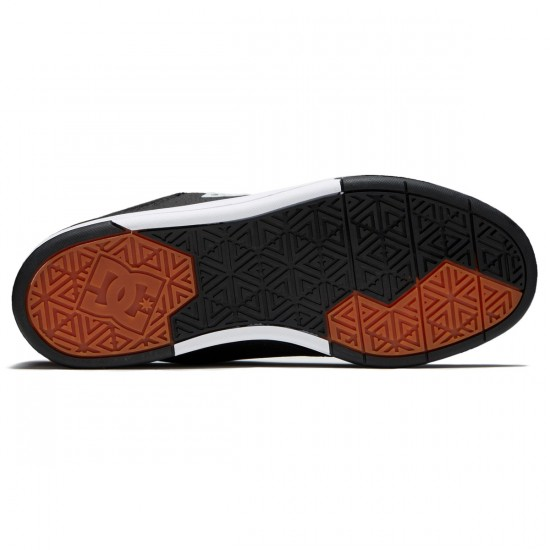DC Plaza TC Shoes - Black/Athletic Red - 10.0