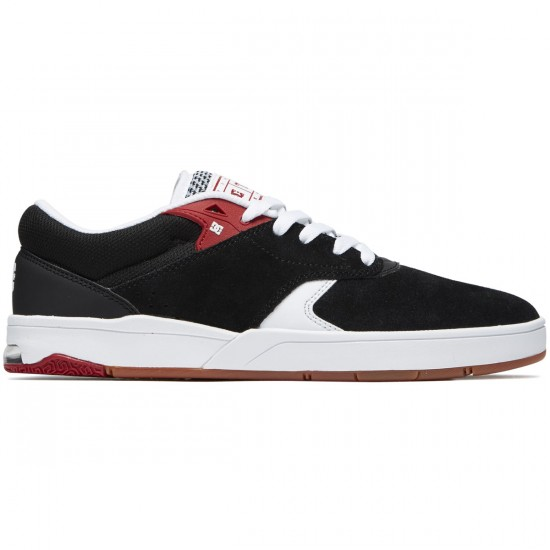 DC Tiago S Shoes - Black/Red/White - 8.0