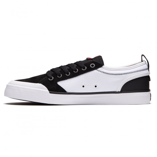 DC Evan Smith Shoes - Black/White/Red - 8.0