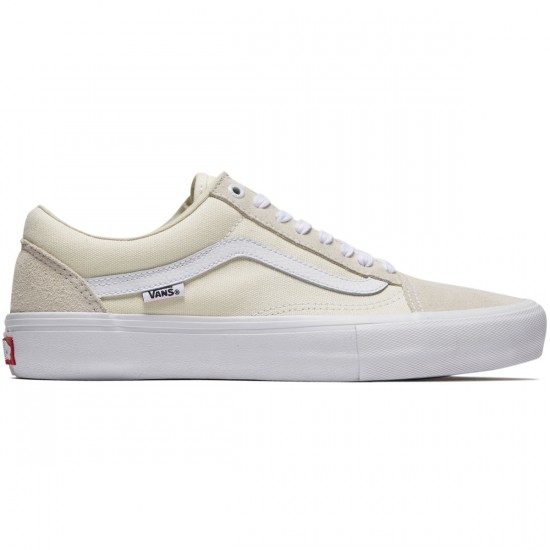 Vans Old Skool Pro Shoes - White - 8.0