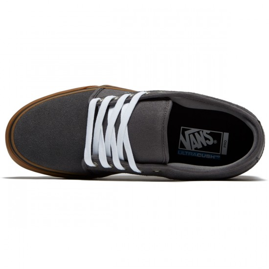 Vans Chukka Low Shoes - Pewter/White/Gum - 8.0