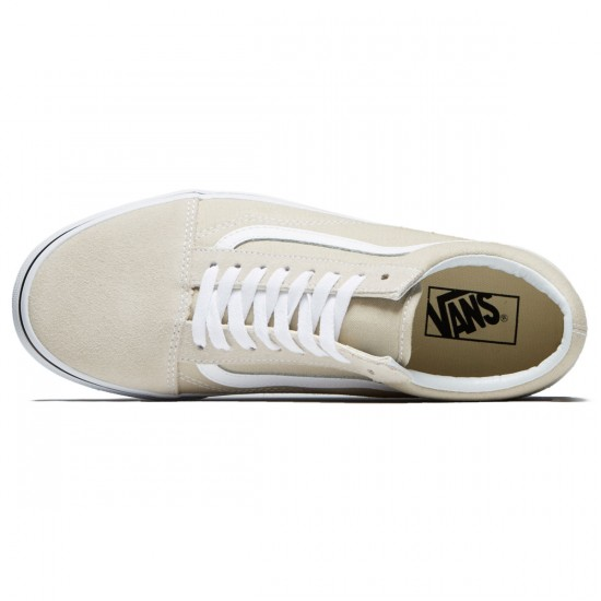 Vans Old Skool Shoes - Silver Linning/True White - 8.0