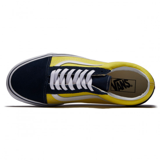 Vans Old Skool Shoes - Dress Blues/Green Sheen