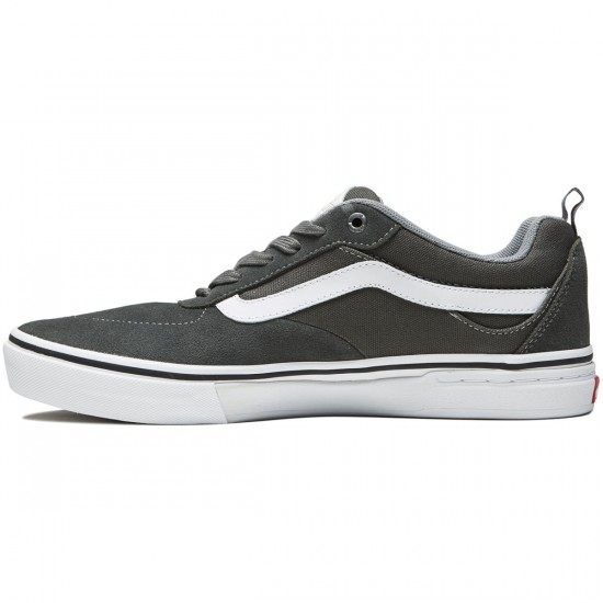 Vans Kyle Walker Pro Shoes - Gunmetal/White - 8.0