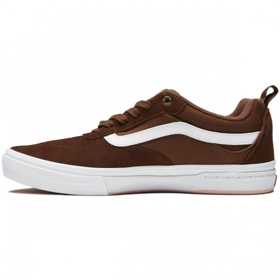 Vans Kyle Walker Pro Shoes - Emperador/White - 8.0