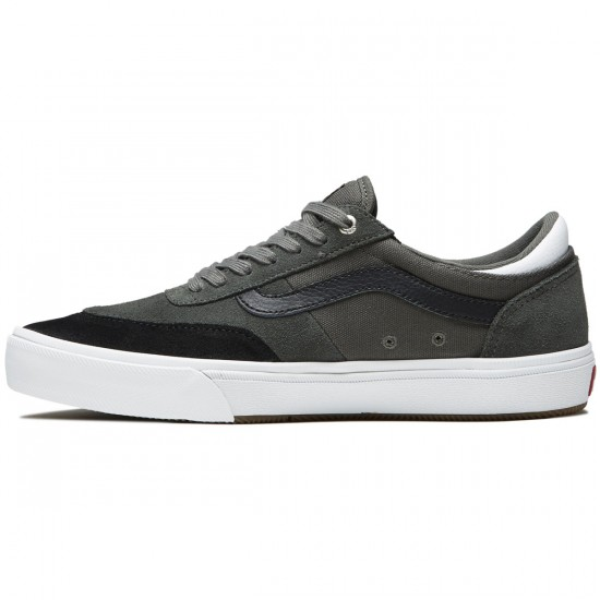 Vans Gilbert Crockett Pro 2 Shoes - Gunmetal/Black/White