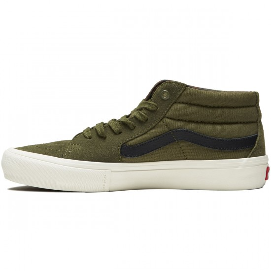 Vans Sk8-Mid Pro Shoes - Winter Moss - 8.0