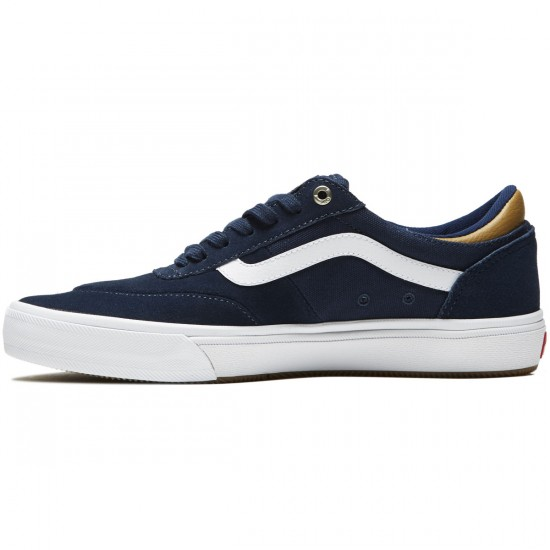 Vans Gilbert Crockett Pro 2 Shoes - Dress Blues/Medal Bronze/White - 8.0