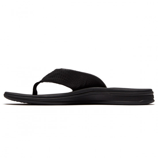 Reef Rover Sandals - All Black - 9.0
