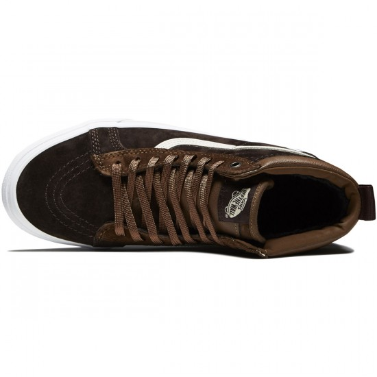 Vans Sk8-Hi MTE Shoes - Dark Earth/Seal Brown - 8.0