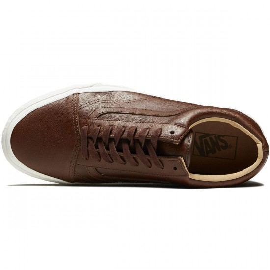 Vans Old Skool Shoes - Shaved Chocolate/Porcini - 8.0