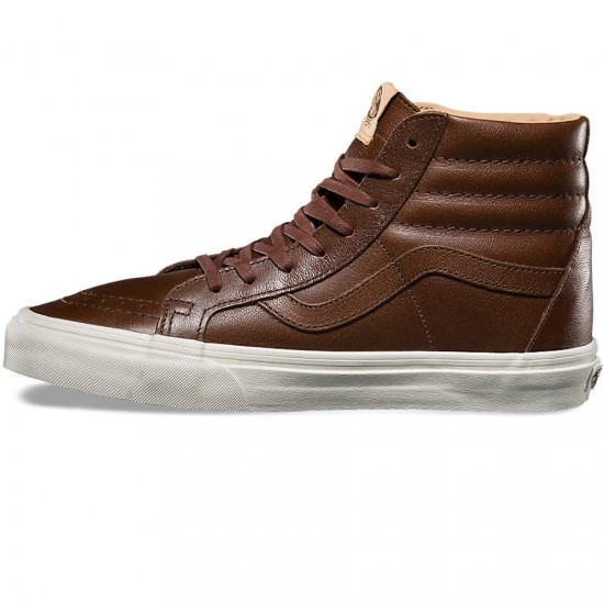 Vans SK8-Hi Reissue Shoes - Shaved Chocolate/Porcini