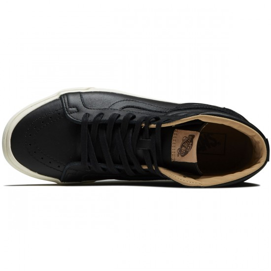 Vans SK8-Hi Reissue Shoes - Black/Porcini - 9.5