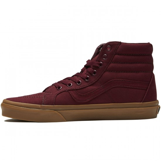 Vans SK8-Hi Reissue Shoes - Port Royale/Light Gum - 8.0